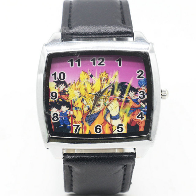 Cartoon Children dragon ball Watch Fashion Lovely Cute Kids Watches for Student