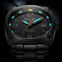Элитный бренд Высокое качество часы с Тритиевой подсветкой NH35 автоматические часы 316L нержавеющая сталь случае 50 м водонепроница