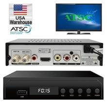 Canada Digital Analog Converter Media Player and USB Recording 1080P ATSC Terrestrial Broadcast Tv Box Receiver ship from USA