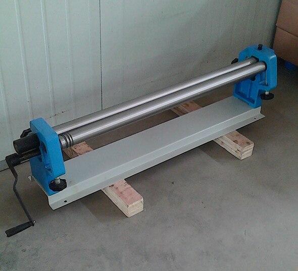 1000mmの金属板の手動操作のスリップロール機械圧延の機械類の工作機械