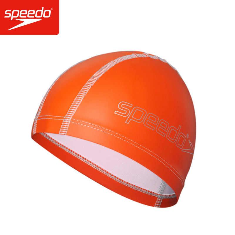 0117d20d Speedo Material de la PU Junior ritmo de luces de los niños nadando capucha  niños nadar