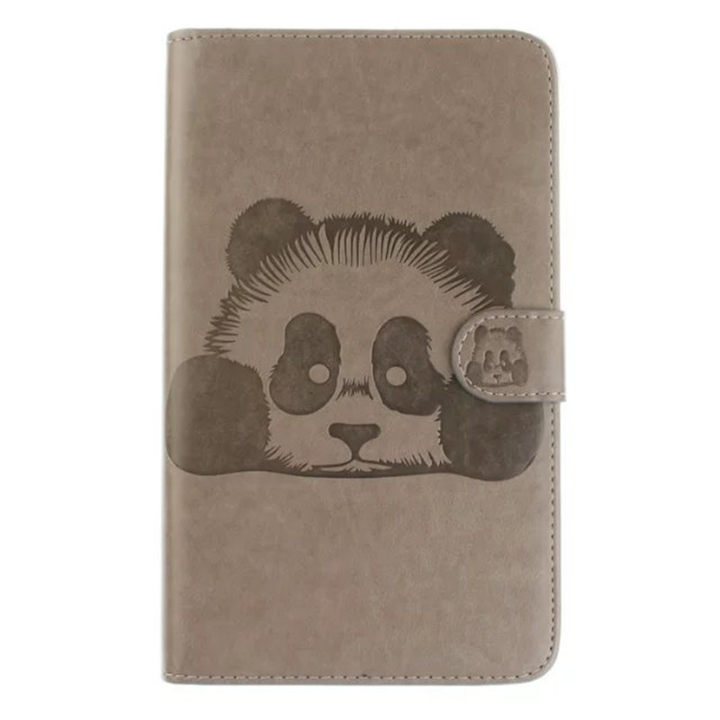 Panda Painting Flip Wallet Stand PU leather case For Samsung Galaxy Tab A6 7.0 T280 T285 7 Tablet smart case Card Holder