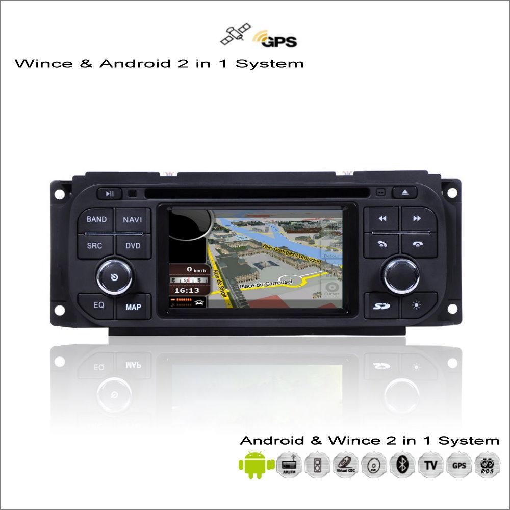 For Chrysler Town & Country / Voyager 2001~2007 - Car Android Radio CD DVD Player GPS Navi Map Navigation Audio Video Stereo chrysler voyager iv 2001 2008