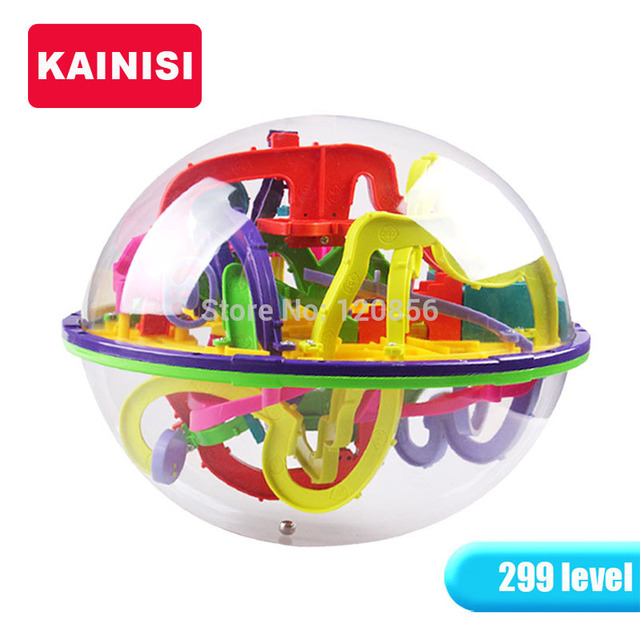 22.5CM 299 Steps 3D puzzle Ball Magic Intellect Ball educational toys Puzzle Balance IQ Logic Ability Game For Children adults
