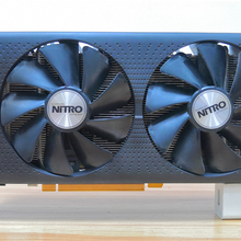 Used.Sapphire RX480 4G D5 DDR5 PCI Express 3.0 computer GAMING graphics