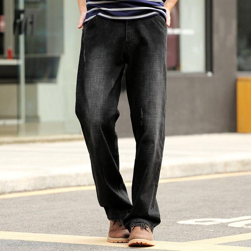 29 Sciolti 40 Jeans Uomini Dimensioni Black 38 Uomo Di 42 Da Direttamente  Autunno Pantaloni Colore ... e0852f96d693