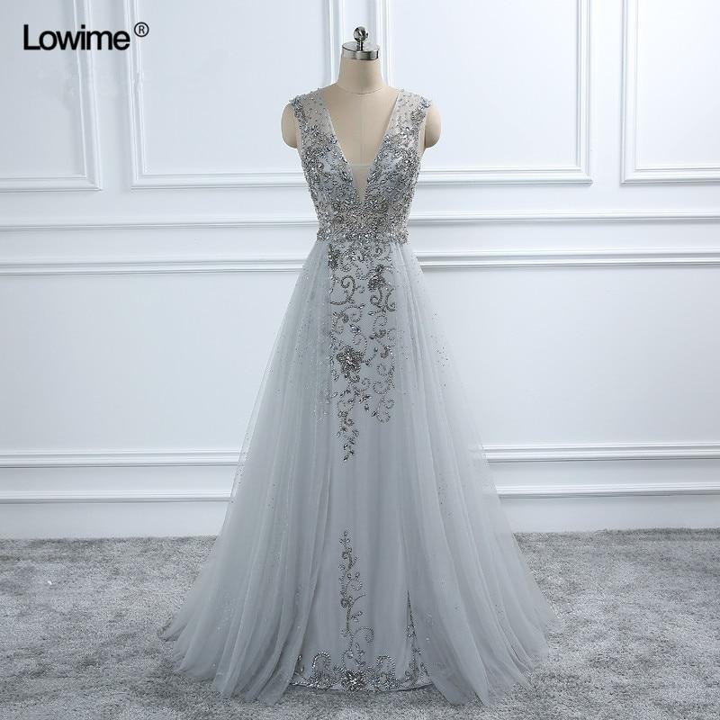 Sexy arabe Long Elie Saab cristal formelle soirée Robe De bal turc Abiye robes De soirée robes Robe De soirée Galajurk