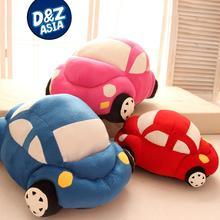 Creative Beetle car cartoon child plush Doll Toy cushion pillow boy birthday gift