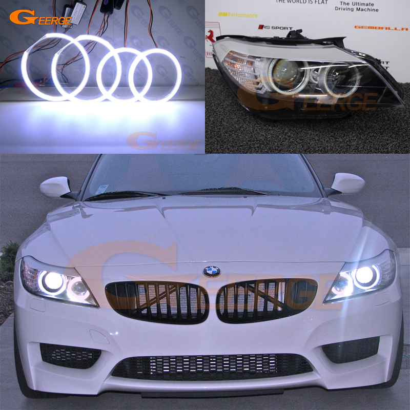 Bmw Z4 Review 2012: For BMW Z4 E89 2009 2013 Pre Facelift Excellent Angel Eyes