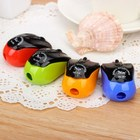 1Pc Small Mini Manual Pencil Sharpener cookie mouse Pencil Sharpener School Supplies Novelty Items Stationery