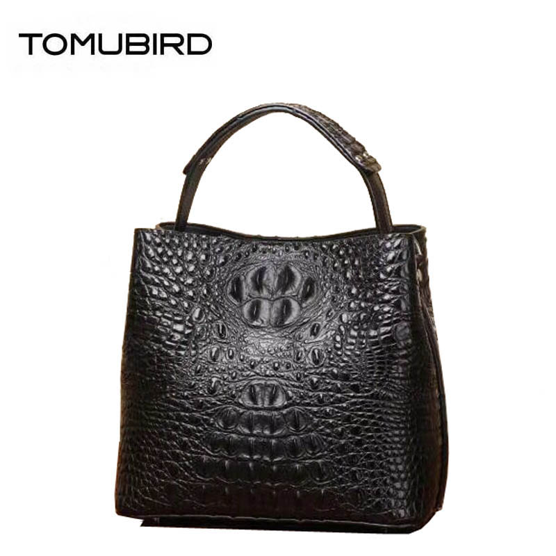 New women genuine Leather bags cowhide fashion tote bag women leather bags Crocodile pattern bags handbags women famous brands fashion style women crocodile pattern doctor women backpack famous bags women s pu leather rucksack bag z762