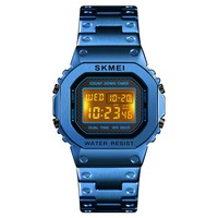 SKMEI Brand Men Sport Watch Waterproof Chronograph Countdown Digital Watch Men Fashion Electronic Wristwatch Alarm Clock