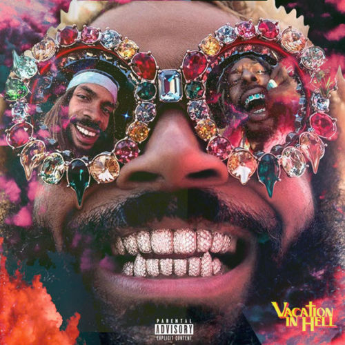 G-833 Art Poster Flatbush Zombies Vacation In Hell 2020 Mixtape Album 40 32x48