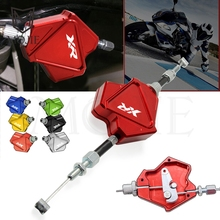 Motorcycle CNC Aluminum Stunt Clutch Lever Easy Pull Cable System For HONDA XR230 XR250 XR400 MOTARD XR 230 250 400