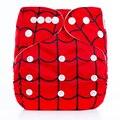 1 unids Colorido Carácter Imprime Pañales de Bolsillo del Paño Del Bebé Pañales Lavables Pañales de Bebé Cambio de Pañales Reutilizables Cubierta Del Pañal Del Bebé Wrap
