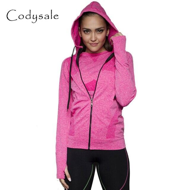 B.BANG 2016 женские повседневные спортивные куртки на молнии с капюшоном накидка для бега с длинными рукавами уличная толстовка для фитнеса топы спотивная одежда