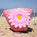 Женщины Сумки Прохладный Boho Bohomian Летом Свежий 3d Цветок Цветочные Симпатичные Сладкий Трикотажные Белье Хлопок Плечо Сумки Сумки Мода 2017