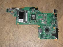 45 days Warranty For hp DV6 DV6-3000 633383-001 laptop Motherboard DALX6HMB6C0 for intel i3-350m cpu with integrated graphics