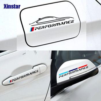 M Power Performance car body decoration sticker for bmw E38 E39 E46 E53 E60 E61 E64 E70 E71 E85 E87 E90 E83 F10 F20 F21 F30 F35 image