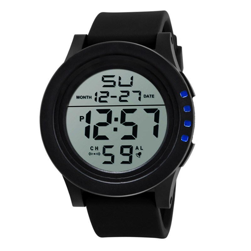 Big Screen Luminous Outdoor Waterproof Men Watches LED Sports Electronic Hombre Relogio Digital Montre Clock Erkek Kol Saati E25