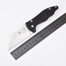 30V blFree Shipping 58-61HRC CPM Sade G10 handle folding knife hunting outdoor camping survival tool tactical knives