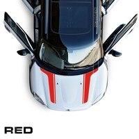 Kaptur samochód vinyl kalkomania Dla mini cooper countryman R55 R56 R57 R60 R58 F54 F55 F56 kaptur samochód naklejki