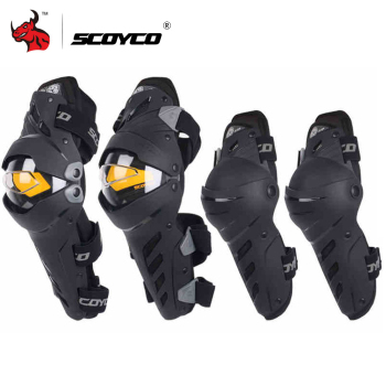 цена на SCOYCO Motorcycle Knee Elbow Combo Kneepad For Men Protective Sport Guard Motocross Protector Gear Motocicleta joelheiras
