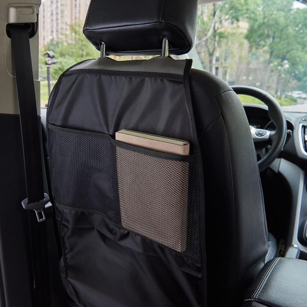 Car Back Storage Child Baby Kick Anti Dirty Cover Cushion Car Seat Back Protector Storage Bags