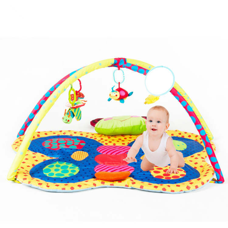 Baby Developing Mat For Newborns Cartoon Pattern Kids Rug Soft Thick Baby Activity Gym Educational Carpet For Children Toy