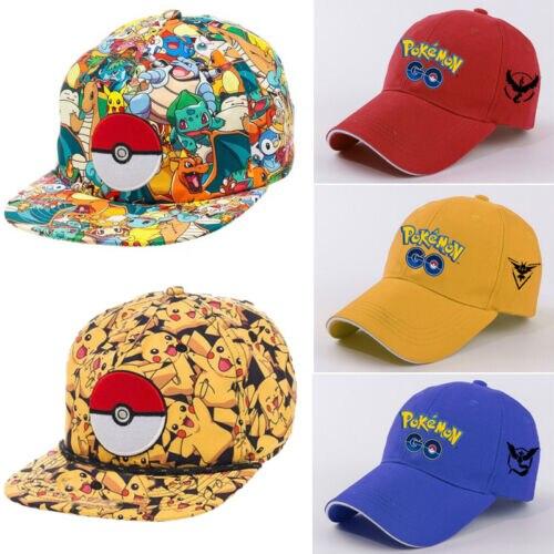 Men Women   Baseball     Cap   Pokemon Go   Cap   Hat Team Valor Team Mystic Team Instinct Pokemon   Caps