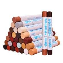Furniture repair crayons 32 color fill color pen pot repair cream wooden furniture floor damaged scratch repair crayons wax