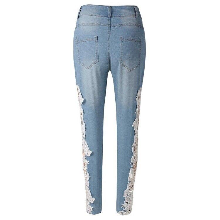 Estilo Americano europeo Caliente Pantalones de Mezclilla de Moda ...