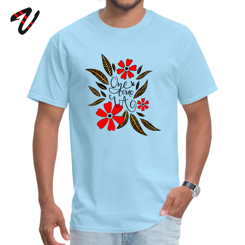 Oye cmo va Crew Neck T-Shirt Mother Day Tops & Tees Short Sleeve Graphic Cotton Normal Tops Shirt Fitness Tight Student Oye cmo va 4256 light