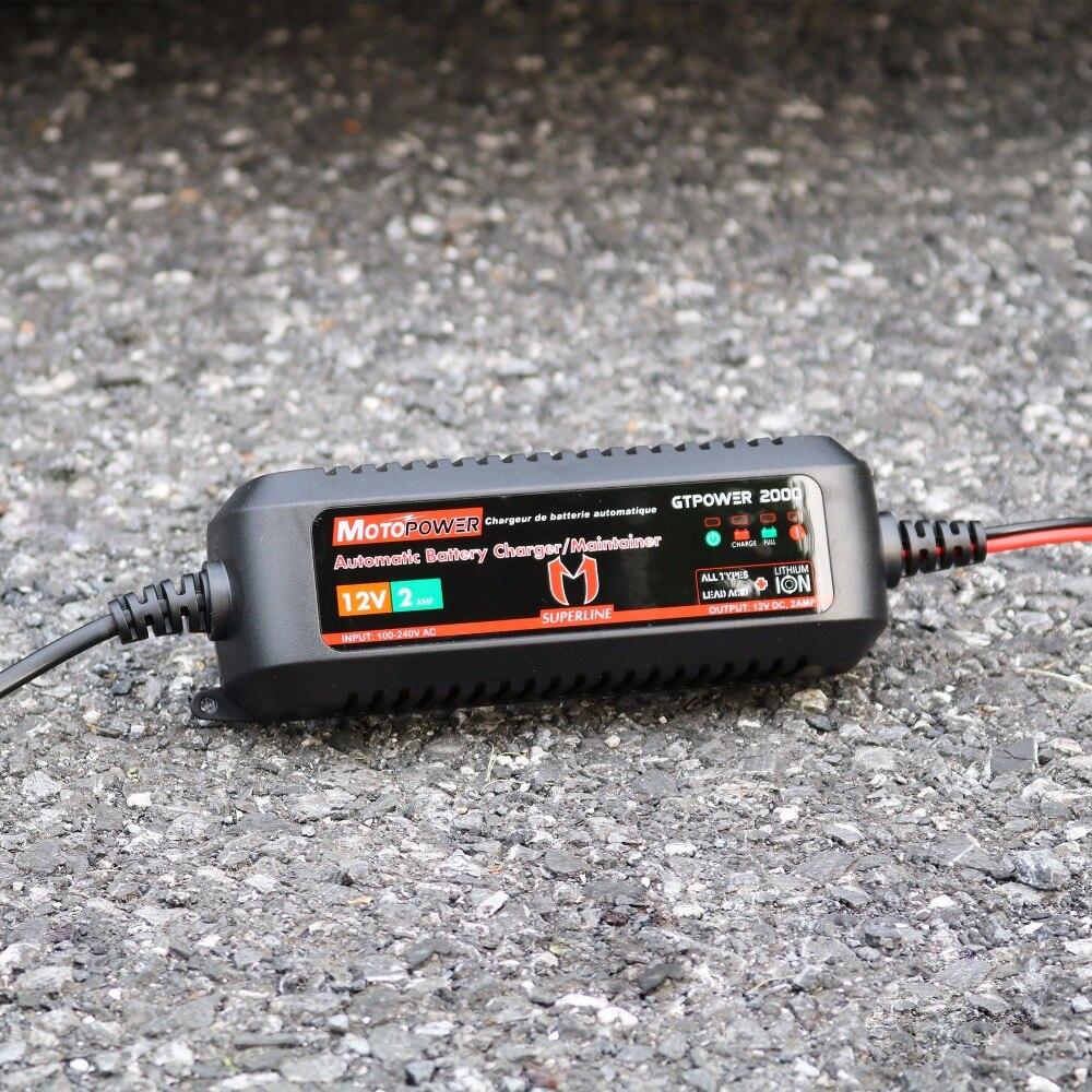 MOTOPOWER 2AMP Həm qurğuşun turşusu batareyaları, həm də - Avtomobil ehtiyat hissələri - Fotoqrafiya 6
