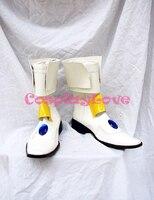 Hand Made Custom Made Magical Girl Lyrical Nanoha Takamachi Nanoha Cosplay Shoes Boots For Halloween