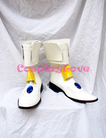 Hand Made Custom Made Magical Girl Lyrical Nanoha Takamachi Nanoha Cosplay Shoes Boots For Halloween