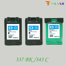 For HP 337 343 Compatible Ink Cartridges For HP Deskjet 6940 D4160 Photosmart C4180 C4190 2575 8050 D5160 Printer einkshop compatible ink cartridge for hp 337 343 for hp photosmart c4180 2575 8050 d5160 c4190 deskjet 6940 d4160 printer