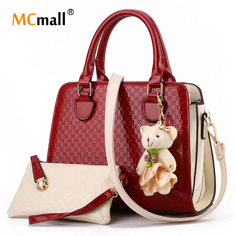 New Handbags Leather Canvas Bag Women Messager Bags Ladies Crossbody Bags
