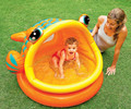 Fish Open Mouth PVC Kids Baby Inflatable Fashion Play Swimming Pool Piscina Children Kids Large Water Accessory S7003