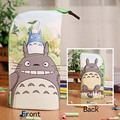 Anime My Neighbor Totoro Waterproof PU Leather Stationery Pouch/Brush Pot/Pen Holder/Pencil Case Bag/Office School Supplies