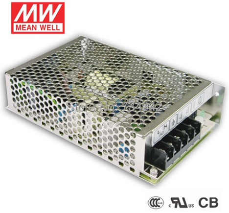 MEANWELL 5V 100W UL Certificated NES series Switching Power Supply 85-264V AC to 5V DC meanwell 24v 60w ul certificated lpv series ip67 waterproof power supply 90 264v ac to 24v dc