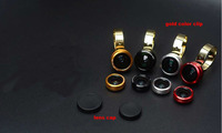Metal Ring Clip Mobile Phone Lens Fish Eye Wide Angle Lens Micro Lens For BlackBerry Aurora