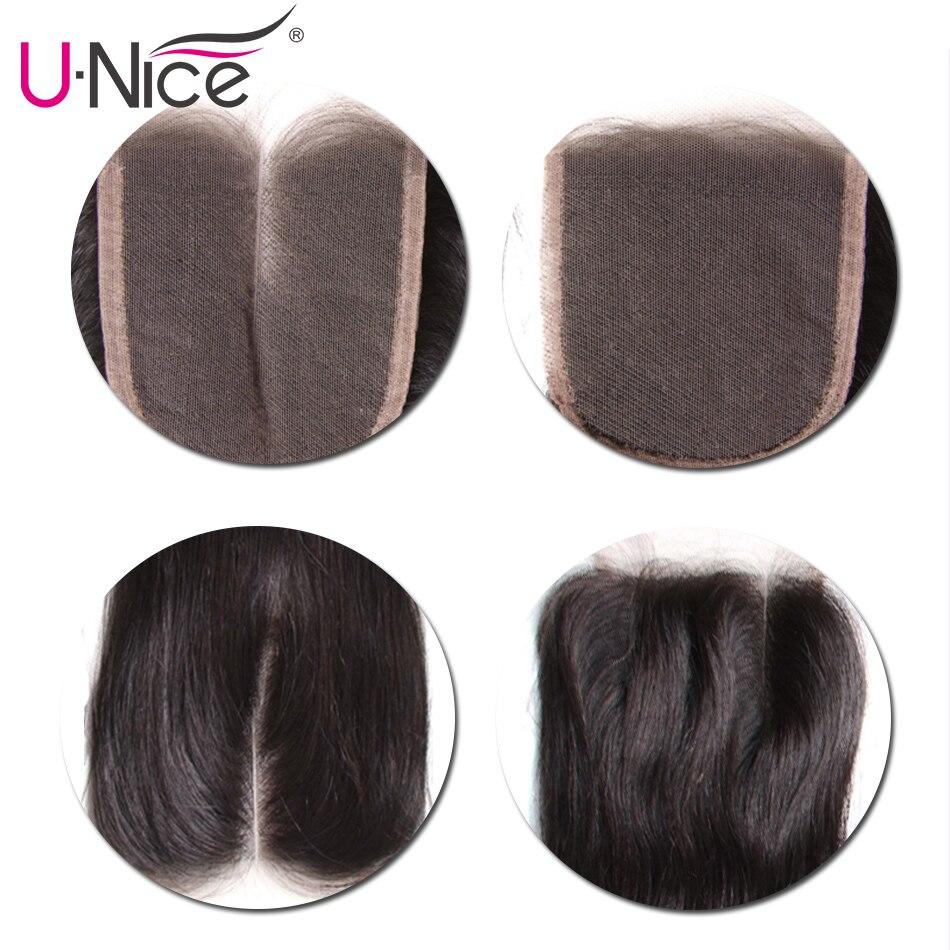 HTB1NKtga5YrK1Rjy0Fdq6ACvVXaX UNice Hair Peruvian Straight Hair 3 Bundles With Closure High Ratio Lace Closure 4/5PCS Swiss Lace Human Hair Weave Remy Hair