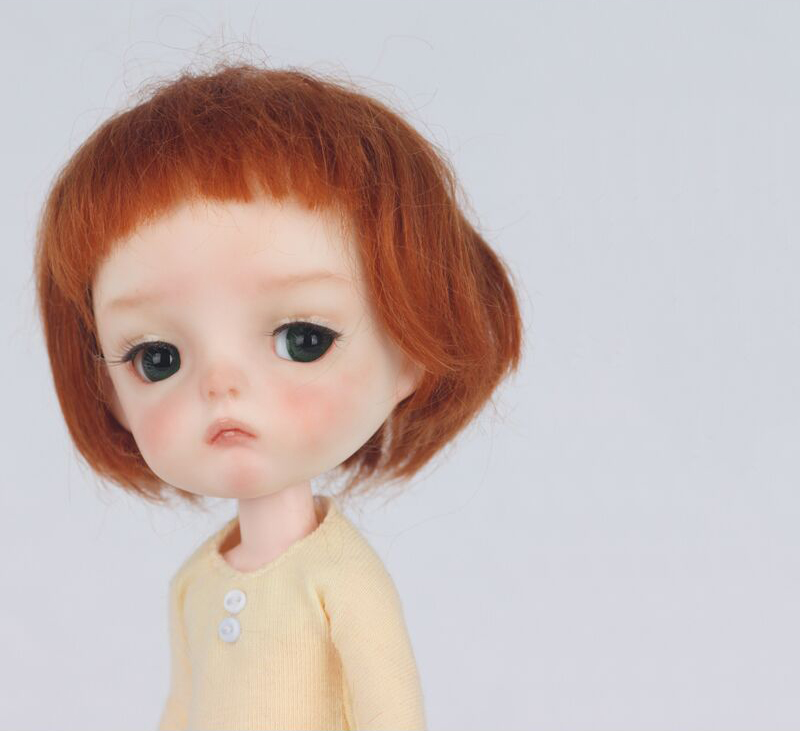 HeHeBJD 1 8 Ming resin figures model reborn big head doll palm doll toys gifts free