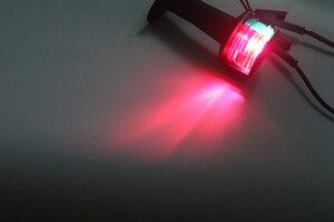 Image 5 - 12 V Marine Boot FÜHRTE Navigation Licht Rot Grün Bi Farbe 360 Grad Alle Runde Signal Lampe 124 MM