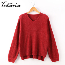 c6bf7c6c7 Buy mohair sweater red and get free shipping on AliExpress.com