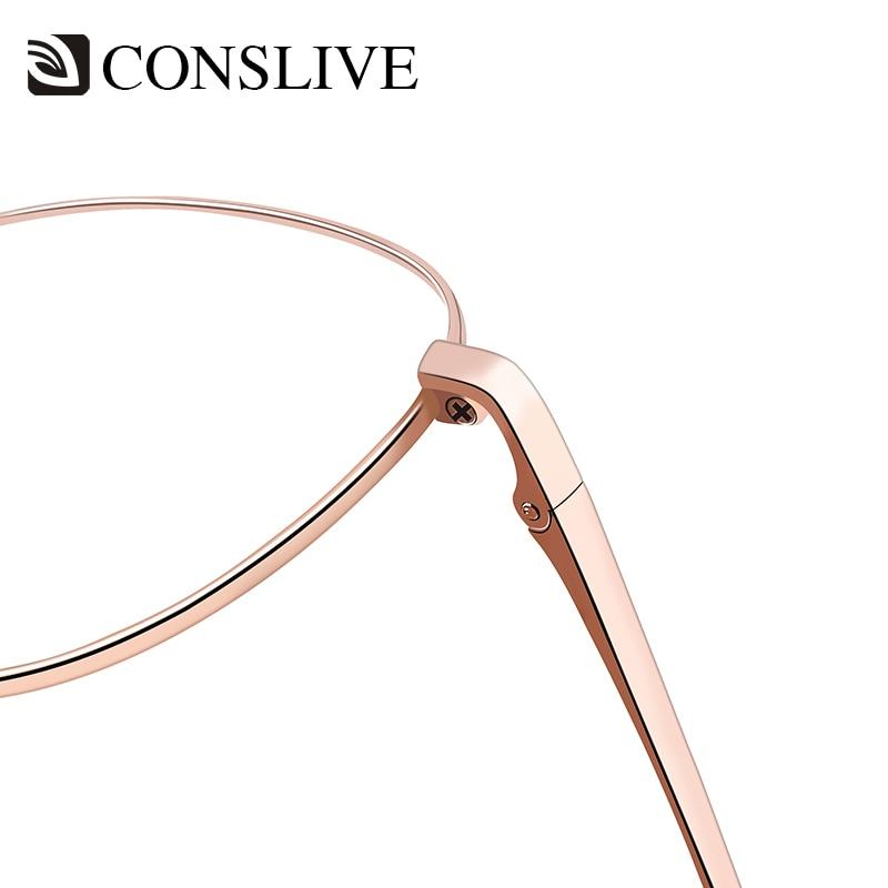 Titan Rose Brillen Rahmen c3 c5 Frauen Breite C1 Myopie Runde Gold Absolvierte Multifokale Progressive Brille Silver Gold rOqHrx5