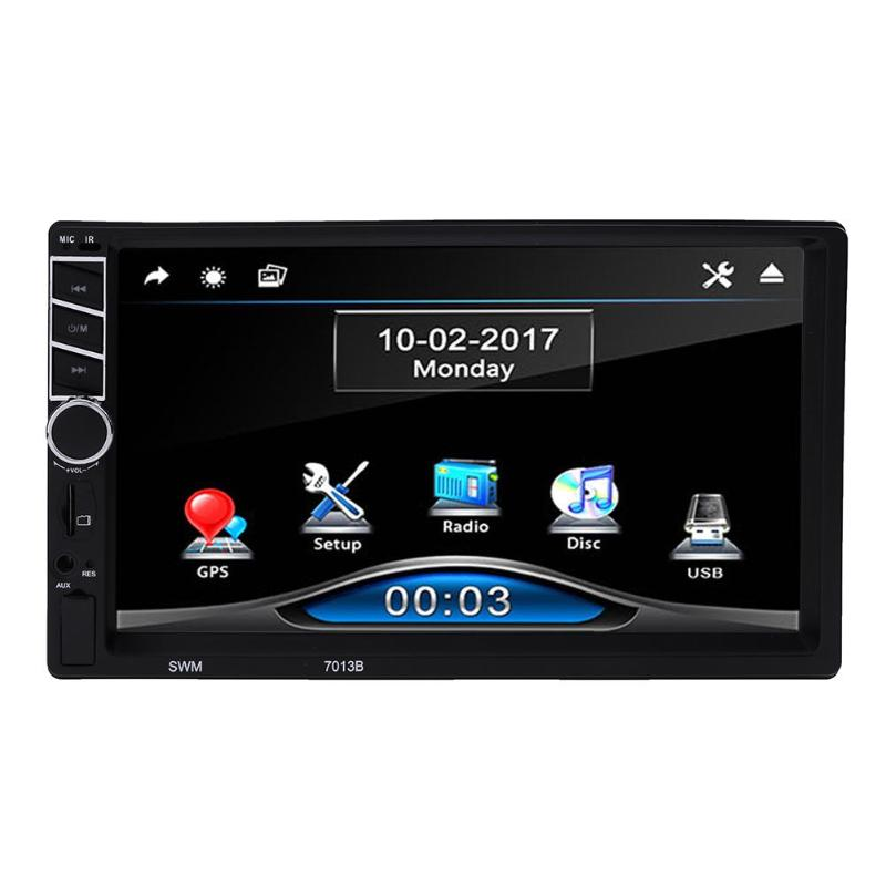 Universal 7inch Touch Screen Car Multimedia GPS Car Play FM Radio GPS Navigation MP5 Player for Apple Android Phone Charging ouchuangbo universal touch cup mouse knob button for android car radio gps navigation system multimedia dvd player