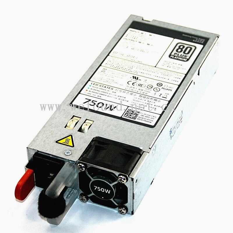 100% alimentation de travail pour R620 R720 750 W 5NF18 alimentation D750E-S1, entièrement testé.