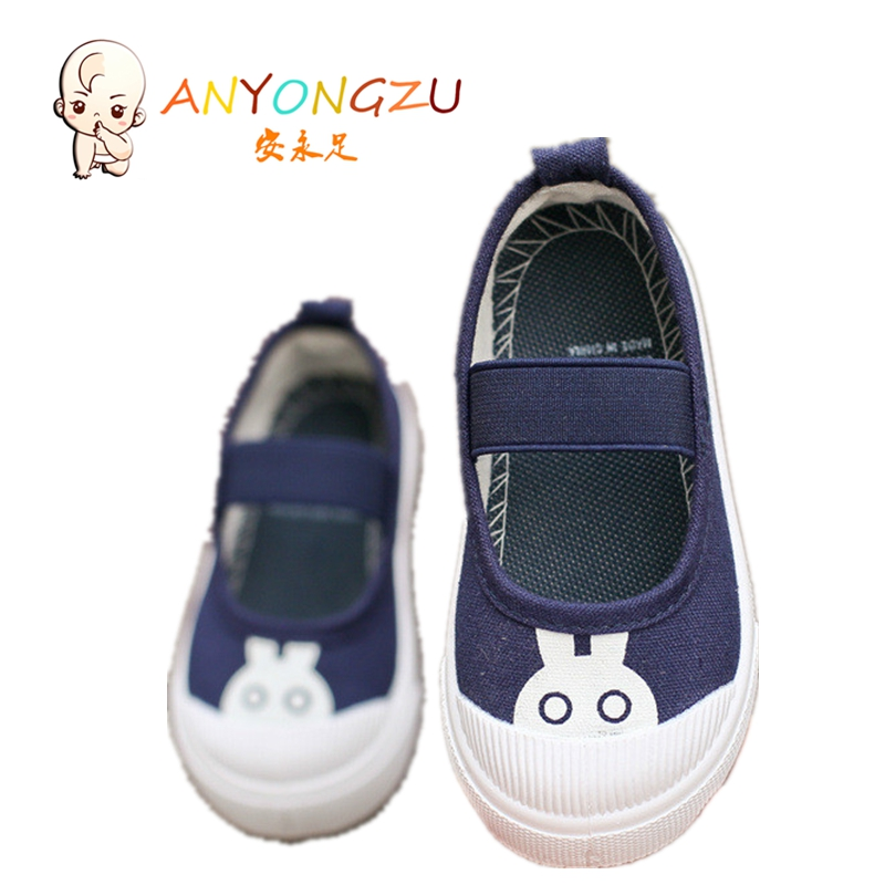 ANYONGZU Autumn Baby Shoes Prewalker Canvas Girls Boys Breathable Fashion And Spring